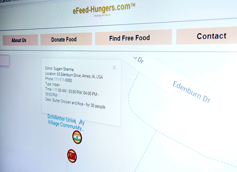 eFeed-Hungers.com screenshot