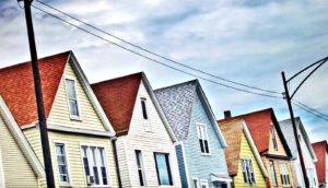 houses in Chicago (racial segregation concept)