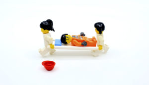 Lego first responders (Traumatic injuries concept)