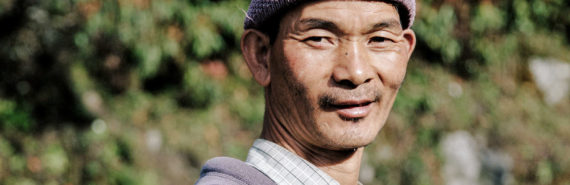 man in Sikkim, India