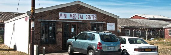 medical center in South Africa (tuberculosis test concept)