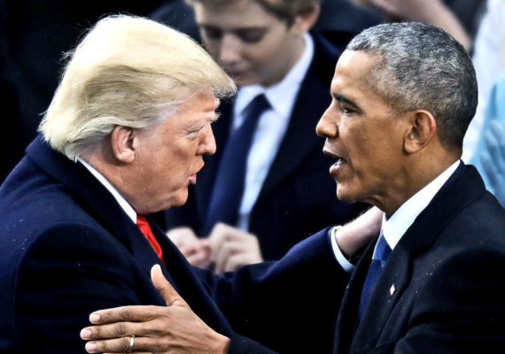 Obama and Trump (march madness for presidents)