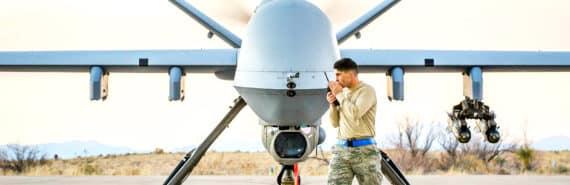 reaper -- armed drones