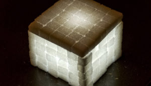 sugar cube light (lithium metal batteries concept)