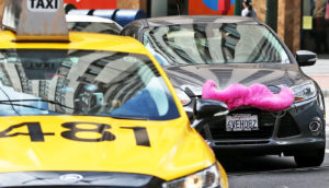 taxis and ride shares