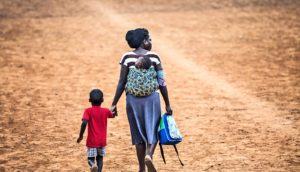 Mother and child in Uganda