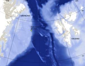 Bowhead Whales map
