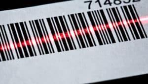 barcode scanning (CRISPR for cancer concept)