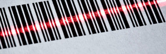 barcode scanning (CRISPR for cancer concept)