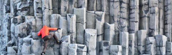 climbing basalt columns (carbon concept)
