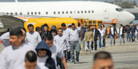 deported immigrants arrive in Guatemala - deportation provision