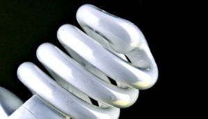 energy efficient light bulb image
