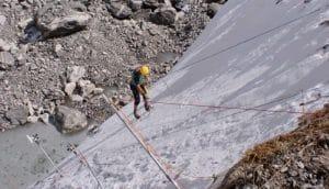 glacier ice cliff (glaciers)