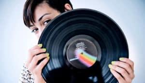 hiding behind vinyl (cloaking concept)