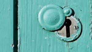 keyhole green door (obesity receptor concept)