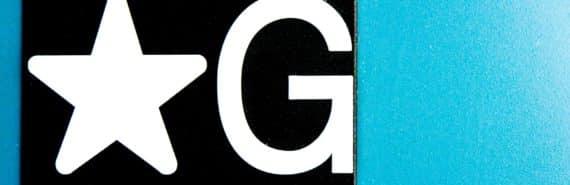 letter g elevator sign