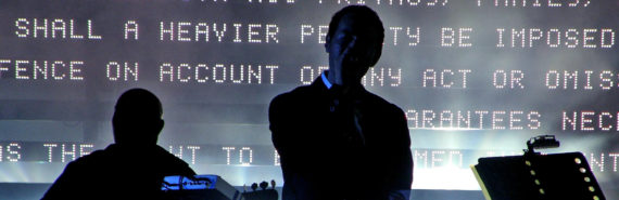 Massive Attack in concert