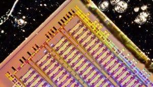 bulk silicon electronic-photonic chip