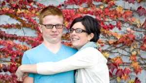 awkward mom and son hug - sex ed for LGBTQ teens