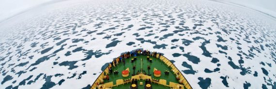 ship in russian arctic
