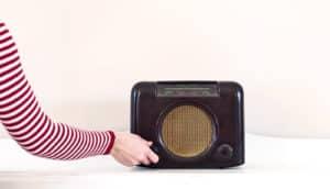 tuning radio (dark matter concept)