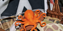 3d-printed octopus (hydrogels concept)