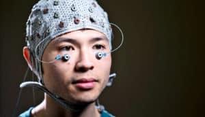 EEG and eye electrodes