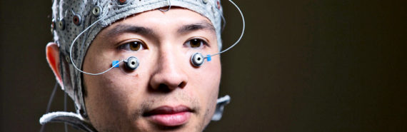 EEG and eye electrodes