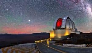 La Silla Observatory, Chile (Giant Magellan Telescope concept)