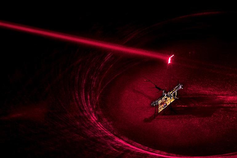 RoboFly laser