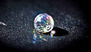crystal refracting light (time crystal concept)
