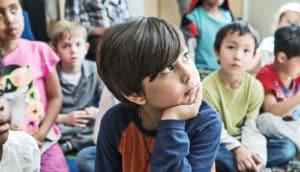 focused first grader - self-regulation
