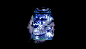 lights in jar