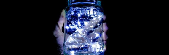 lights in jar