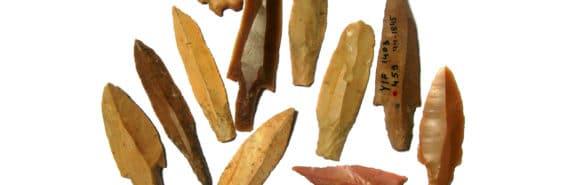 Yiftahel Pre-Pottery Neolithic B flint arrowheads - Neolithic Y-chromosome bottleneck