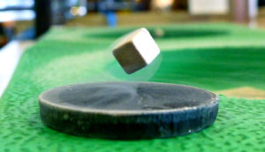 superconductor on green