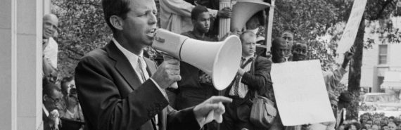 robert f. kennedy giving speech