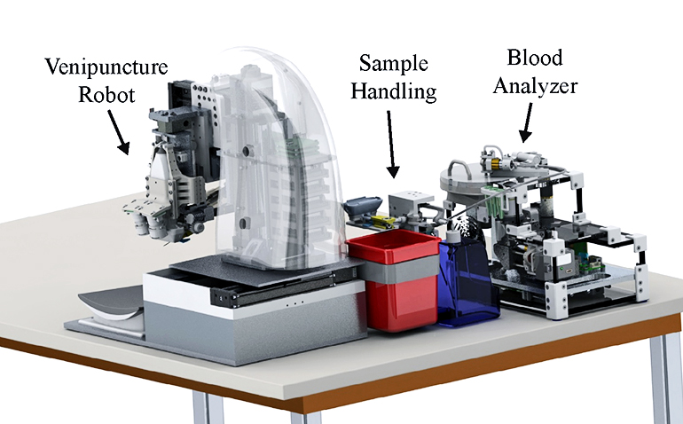 blood testing device render