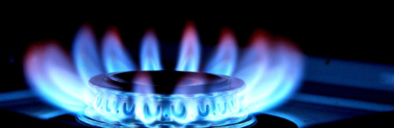 gas burner on stove (cancer concept)