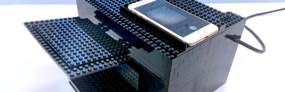 nerve gas sensor - legos and smartphone