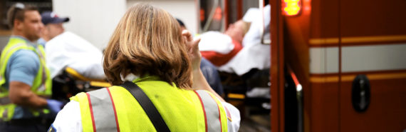 ambulance and EMTs for opioid overdose