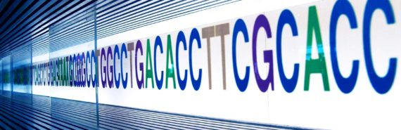 DNA letters on the wall - DNA hotspots