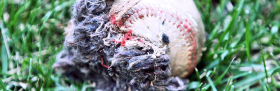 broken baseball - DNA nucleosome