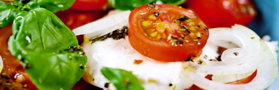 caprese salad (food industry concept)