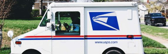 mail truck - colorectal cancer screening by mail