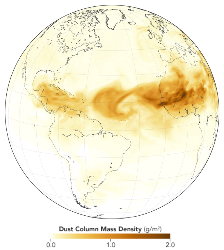 dust map