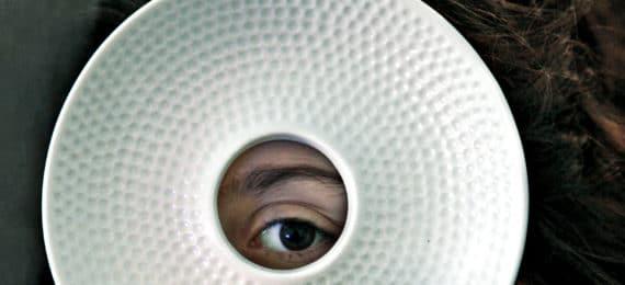eye through dish - nanoscope