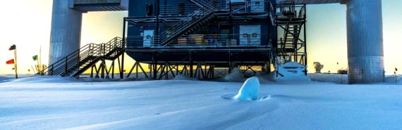IceCube lab - high-energy neutrinos