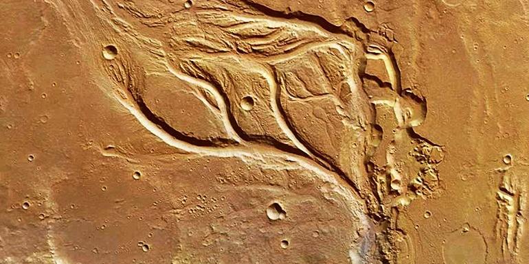 mars valleys