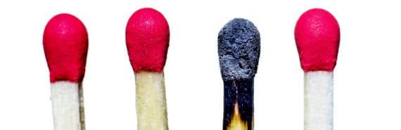 matches (burnout concept)